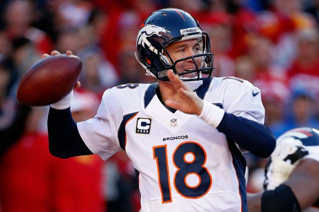 Peyton Manning: NFL MVP Award Is Broncos QB's to Lose