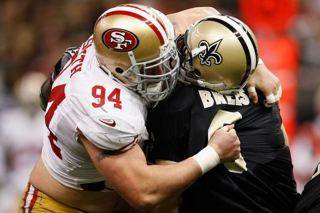 49ers vs. Saints: Drew Brees, New Orleans Playoff Hopes Picked off