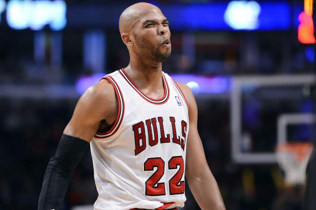 Is Chicago Bulls' Taj Gibson Rapidly Becoming Overrated?