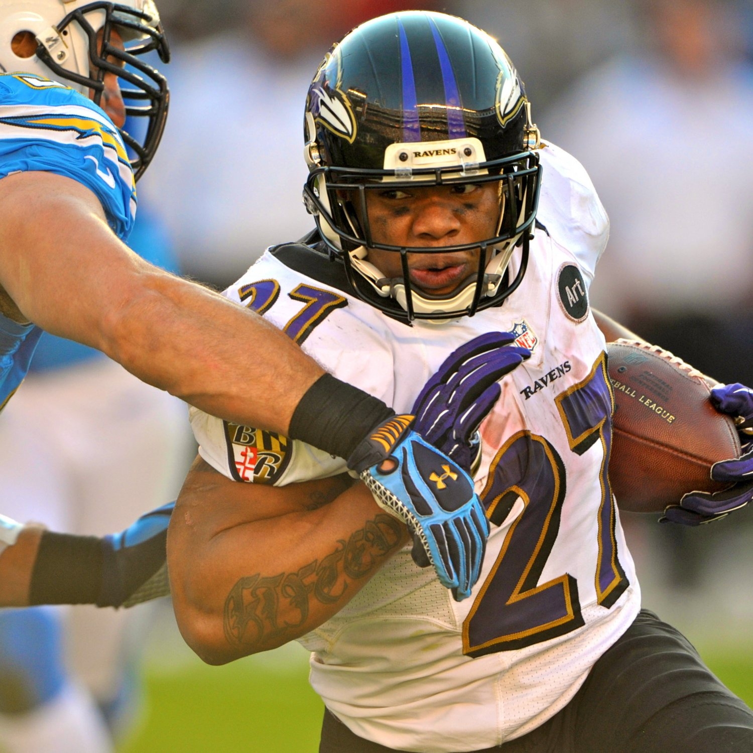 San Diego Chargers Baltimore Ravens: Ravens Vs. Chargers: Joe Flacco's Arm Plus Ray Rice's Legs