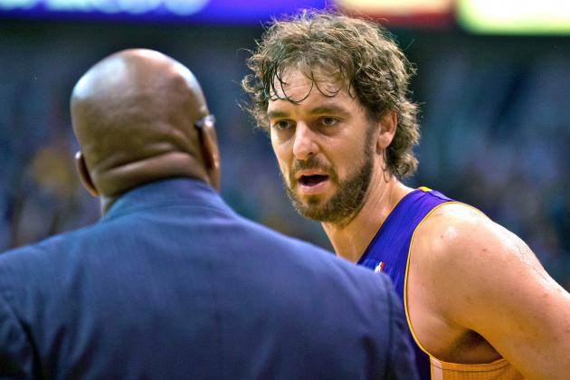 Pau Gasol Playing Through Knee Tendinitis
