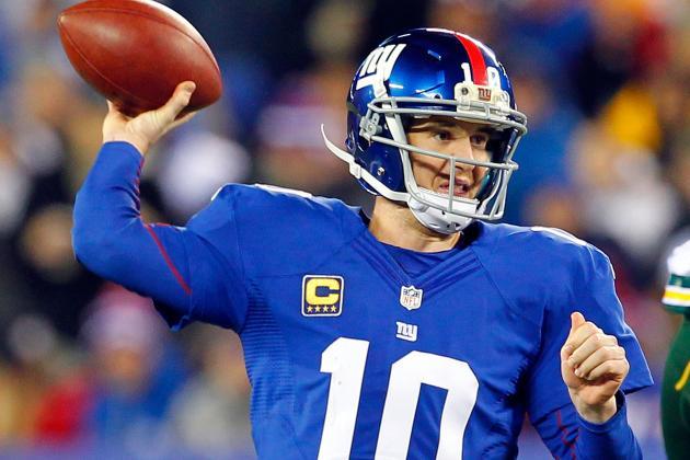 Eli Manning Becomes Giants' Career Leader in TD Passes