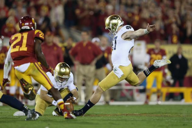 Notre Dame's Kyle Brindza: Spotlight on the Irish Kicker
