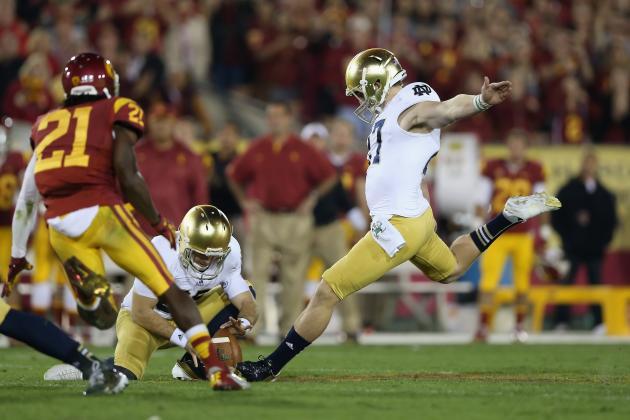 Notre Dame's Kyle Brindza: Spotlight on the Irish Kicker