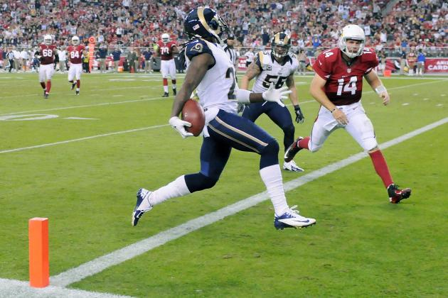 Rams vs. Cardinals: Ryan Lindley Implodes and Throws 4 Interceptions
