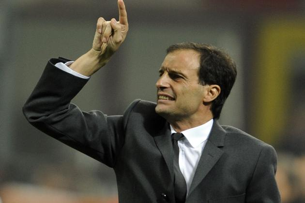 Berlusconi Backs Milan Boss Allegri