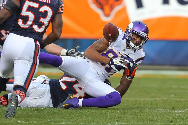 Jerome Simpson's Frustrating Season with Vikings Gets Worse