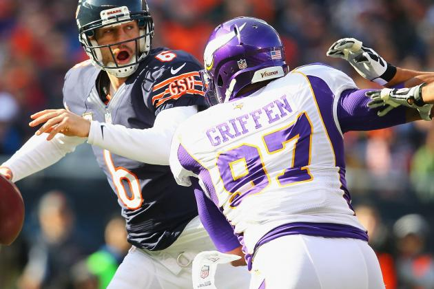 Pass Rush Hapless Against Scrambling Bears QB Cutler