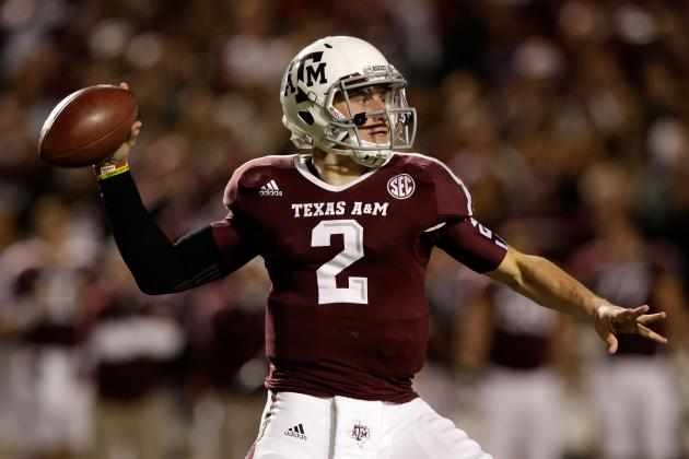 Texas A&M QB Johnny Manziel Wins 2012 Davey O'Brien Award