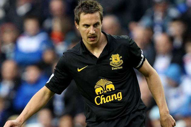 Jagielka Enjoying Skipper Duties