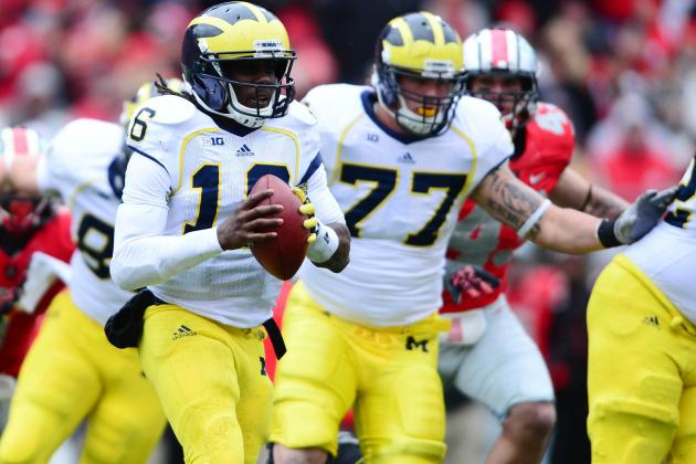Denard Robinson Says He Made a Mistake Saturday