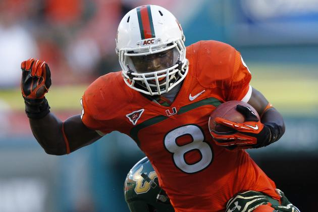Miami Hurricanes' Duke Johnson Completes Grand Freshman Season