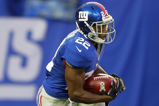 David Wilson Says He's Prepared for Bigger Role After Andre Brown's Injury