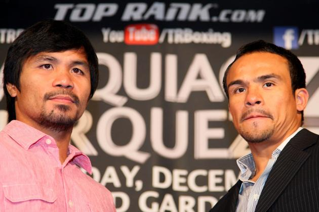 Manny Pacquiao: Gambling Guide for December 8 Bout vs. Juan Manuel Marquez