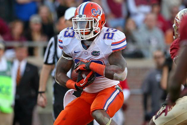 SEC Honors Mike Gillislee and Caleb Sturgis