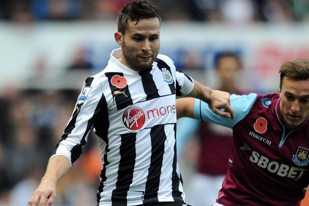 Newcastle Midfielder Yohan Cabaye Undergoes Surgery