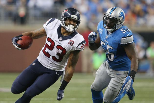 2012 Fantasy Football Running Back Rankings: NFL Week 13