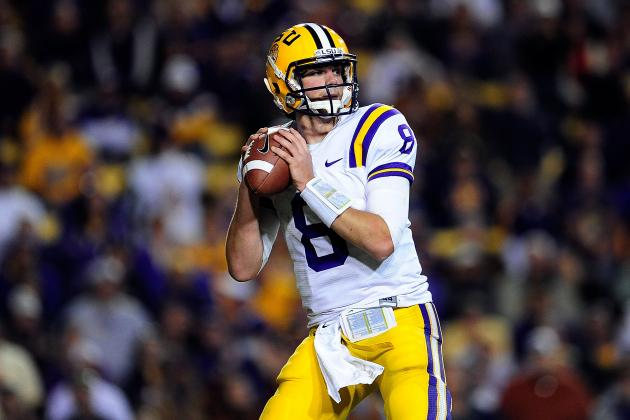 LSU Football: Why Zach Mettenberger's Improvement Will Lead to BCS Title in 2013