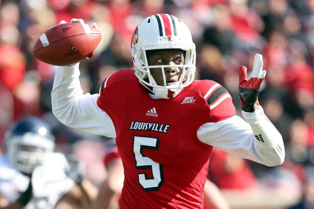 Charlie Strong Says QB Teddy Bridgewater Will Play Against Rutgers