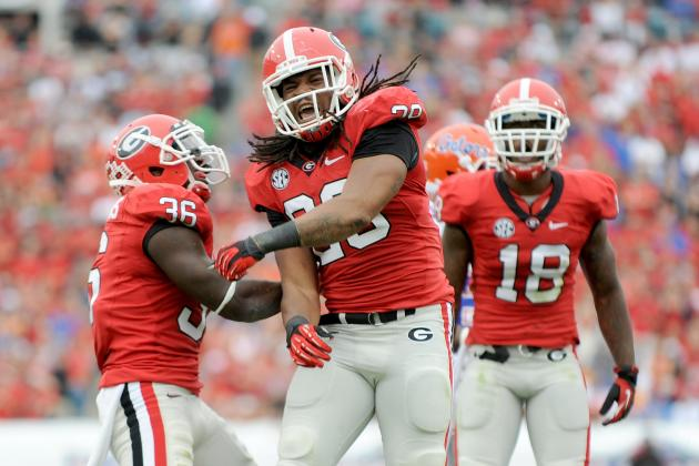 SEC Championship 2012: Georgia Players Who Pose Biggest Threat to Alabama