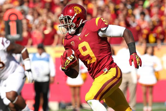 USC Football: Ranking Trojans' Top Offensive Performers This Season