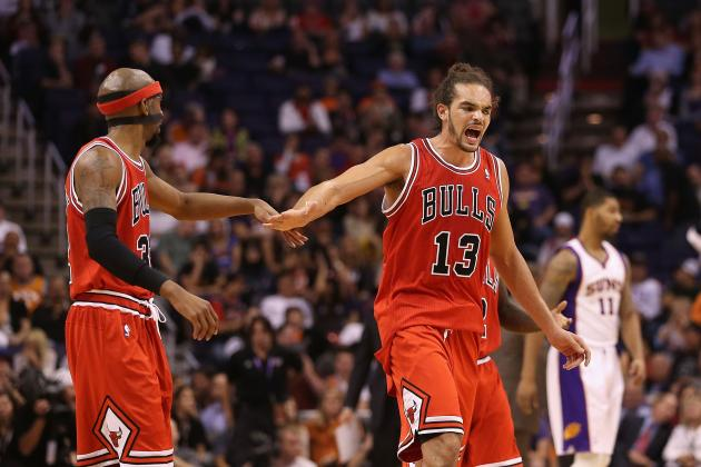 Luol Deng Says Joakim Noah Is Best Center in East