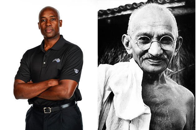 'Big Baby' Says Orlando Coach Jacque Vaughn Is 'a Gandhi Kind of Guy'