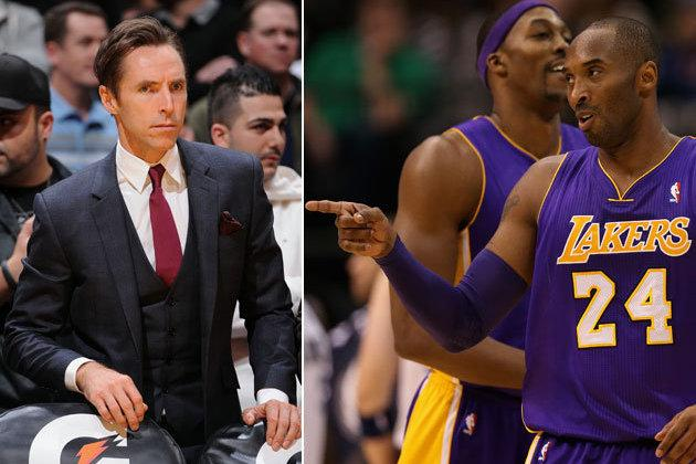 Kobe Bryant's Hilarious New Nickname for Steve Nash Is 'Gatsby'