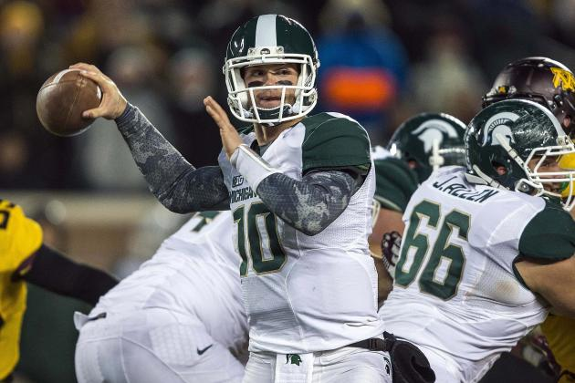 Andrew Maxwell Must Solidify Michigan State's Quarterback Position