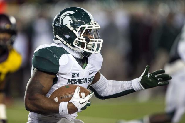 Le'Veon Bell Earns Big Ten's Offensive Co-Player of the Week Honor
