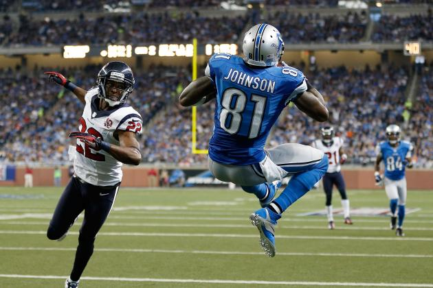 2012 Fantasy Football Wide Receiver Rankings: NFL Week 13