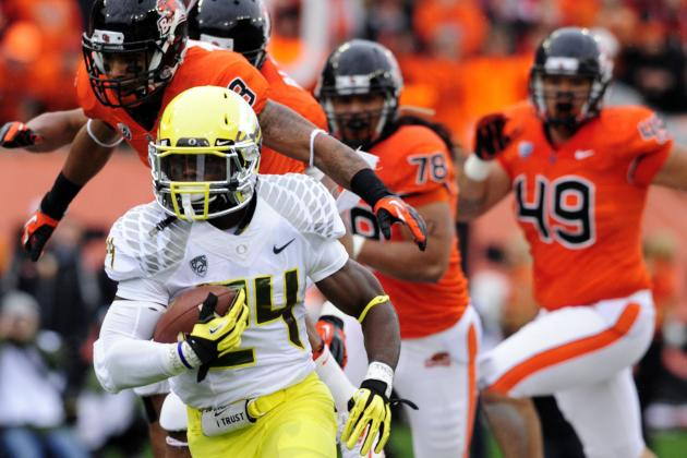 Oregon Football: Ducks Would Trample Kansas State in Likely Fiesta Bowl Matchup
