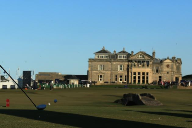 Changes Planned for Old Course at St. Andrews Ahead of '15 Open