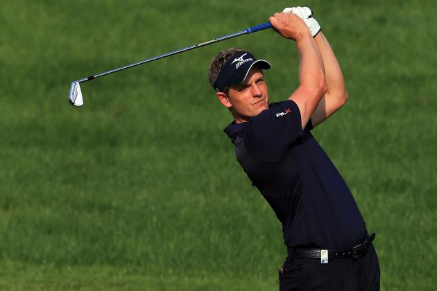 Luke Donald Ends Bogey-Free Streak in Dubai, Battles Sinuses