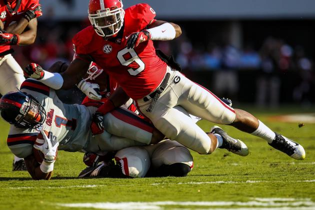 2013 NFL Draft: Full Scouting Report for Alec Ogletree