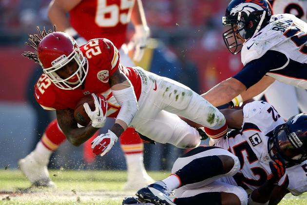 Dexter McCluster Injured in Kansas City Chiefs' Loss