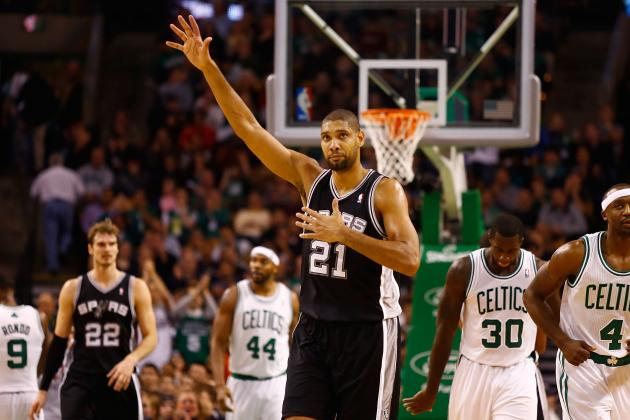 Horford, Duncan Named NBA Players of the Week