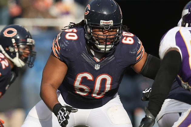Bears Guard Louis out for Season with Knee Injury