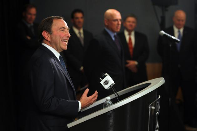 Bettman Ridiculed at A.C. Benefit Game