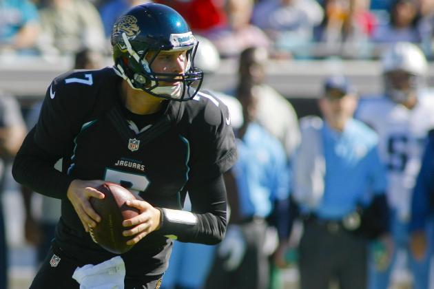 Jaguars QB Chad Henne Not Rattled by Sacks, Early Miscue