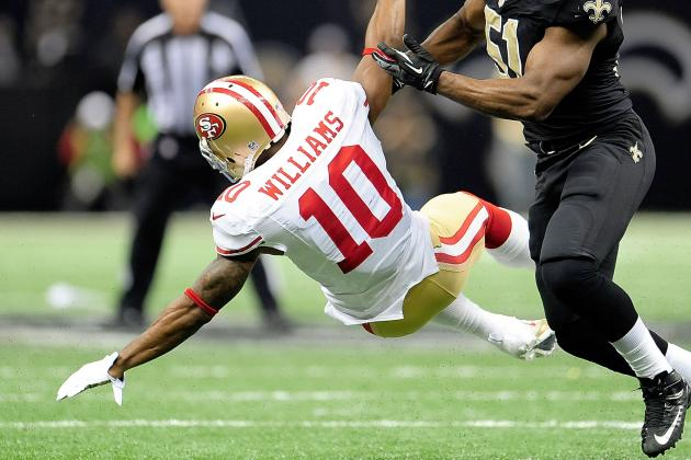 49ers Lose Kyle Williams to Torn ACL