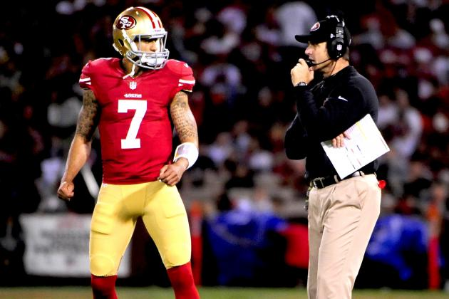 Jim Harbaugh Refuses to Name San Francisco 49ers' Starting QB vs. Rams