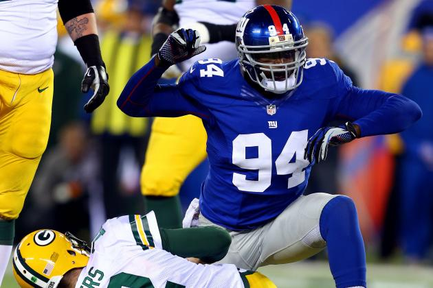Mathias Kiwanuka: New York Giants' Converted LB Breaks out Versus Packers
