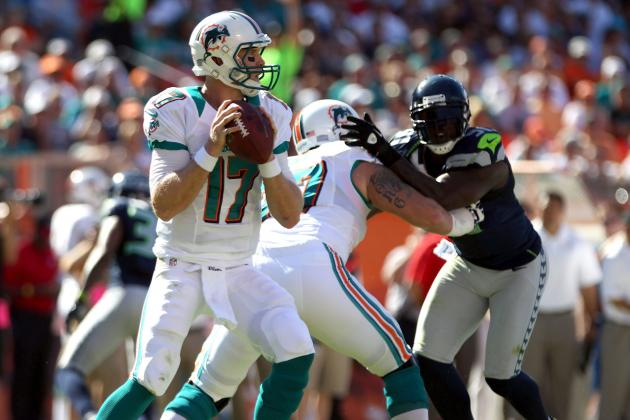 Miami Dolphins Offensive Line Keyed Ryan Tannehill's 4th-Quarter Heroics in Win