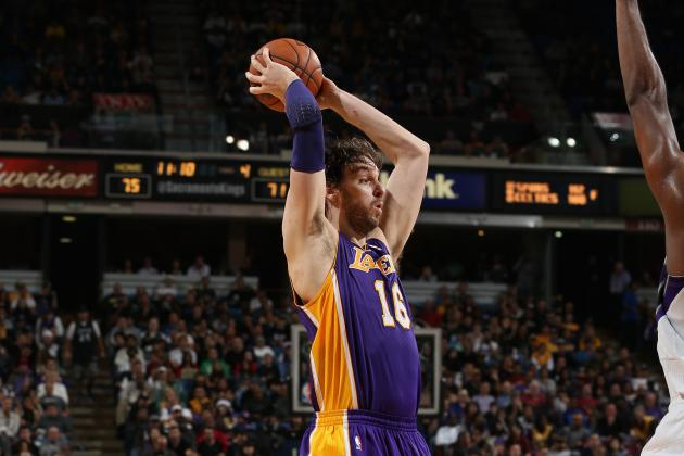 L.A. Lakers Must Find Ways to Plant Pau Gasol in the Post