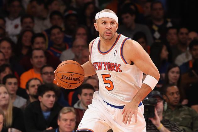 Jason Kidd Ruled out vs. Nets with Back Spasms