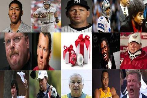 The Holiday Gifts That Sports Celebrities Will NOT Be Getting