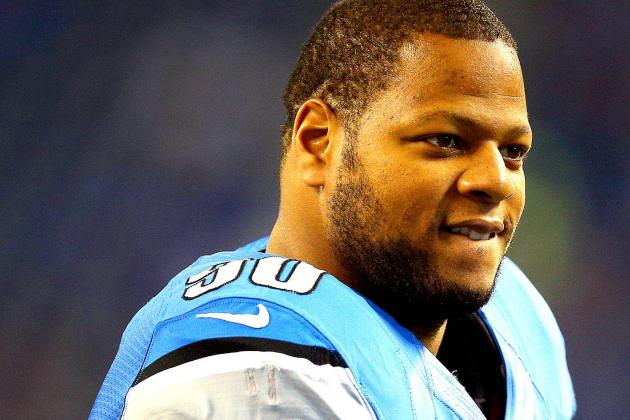 Lions' Ndamukong Suh Avoids Suspension for Latest on-Field Incident