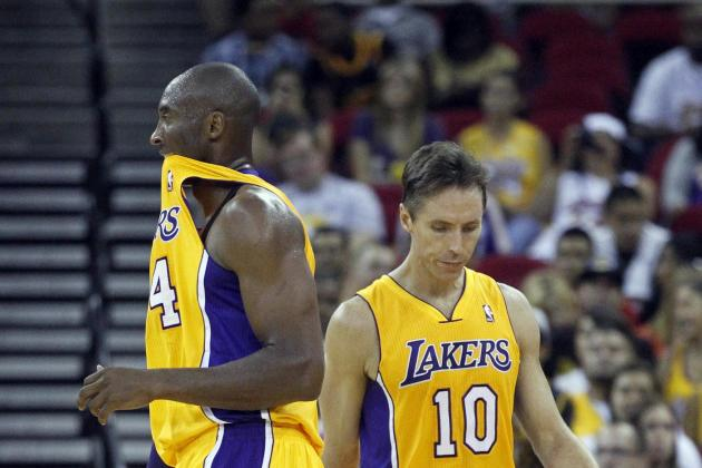 Why Steve Nash's Return from Injury Will Allow Kobe Bryant to Score Even More