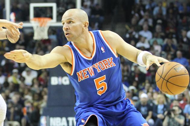 Knicks G Jason Kidd out vs. Brooklyn Nets